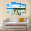 Lake Mahinapua in New Zealand Multi Panel Canvas Wall Art