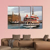 Ferry BARIS MANCO sails in to Haydarpasa multi panel canvas wall art