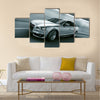 3d rendering of a brandless generic car of my own design in a tunnel Multi panel canvas wall art