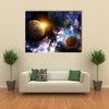 Maya Prophecy on Horizontal Backdrop Multi Panel Canvas Wall Art