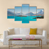 Beautiful Wakatiup Lake, New Zealand Multi panel canvas wall art
