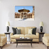 Scenery of the famous Omayyad Mosque Multi panel canvas wall art