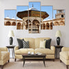 Scenery of the famous Omayyad Mosque in Damascus,Syria Multi panel canvas wall art