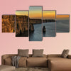 Photo famous cliffs of moher, sunset multi panel canvas wall art