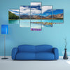 The Tekapo Lake On The Southern Island, Multi Panel Canvas Wall Art