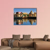 Peru, floating Uros islands on the Titicaca Lake, multi panel canvas wall art