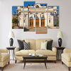 Frontal view of the Bulgarian Parliament Multi panel canvas wall art