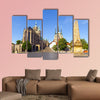 Dom hill of Erfurt Germany multi panel canvas wall art