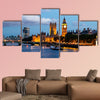 Big Ben and Westminster Bridge in the Evening, London, wall art