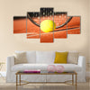Tennis background Multi panel canvas wall art