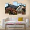 Great wall in the golden autumn multi panel canvas wall art