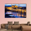 Roman Bridge on Guadalquivir River of Cordoba, Andalusia, wall art