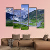 Mountain road with clouds, Romanian Carpathians, Transfagarasan wall art