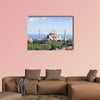 Hagia Irene and Hagia Sophia, Istanbul, Turkey multi panel canvas wall art