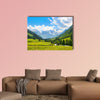 Beautiful landscape with the Alps in National park Hohe Tauern, Salzburg, Austria Multi panel canvas wall art