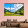 Beautiful landscape with the Alps in National park Hohe of canvas wall art