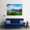 Beautiful View Of Mayan Riveria In Mexico, Multi Panel Canvas Wall Art