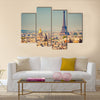 Eiffel Tower Multi panel canvas wall art