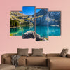 The Oeschinen mountain lake ot Oeschinensee in Kandersteg wall art