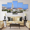 Diocletian palace in Split, Croatia Multi panel canvas wall art