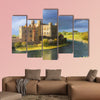 Famous Castle near Leeds in Kent, painted on the canvas wall art