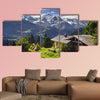 Heidi land multi panel canvas wall art