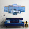 A humpback whale Multi Panel Canvas Wall Art