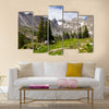 Colorado Rocky Mountains Landscape in Summer Multi panel canvas wall art