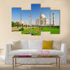 Taj Mahal, Agra, Uttar Pradesh Multi Panel Canvas Wall Art