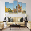 Saint Basil's Cathedral, at Red Square, Moscow Multi panel canvas wall art