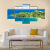 Castara Bay, Tobago Multi panel canvas wall art