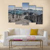 Beautiful view of Beijing Great Wall of China multi panel canvas wall art