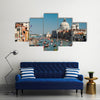 Venice Regata Storica Gondolas on Grand Canal Multi panel canvas wall art