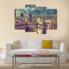 Beautiful view from Milan Beautiful view of Milan, Cathedral Multi Panel Canvas Wall Art