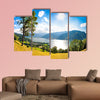 Panoramic view of the city of Zell am See with Zeller Lake wall art
