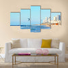 Beautiful Coastline in Israel Multi Panel Canvas Wall Art