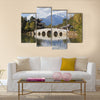 Lijiang old town and Jade Dragon Snow Mountain in China multi panel canvas wall art