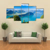 Lucerne Lake Is Looking Cool And Calm Along  With Mountain Pilatus, Swiss Alps, Central Switzerland, Multi Panel Canvas Wall Art