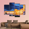 Vienna Hofburg Imperial Palace at night, Austria multi panel canvas wall art