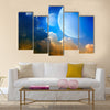 3D Fantasy landscape Multi Panel Canvas Wall Art