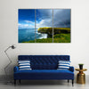 Rainbow above Cliffs of Moher Ireland Multi Panel Canvas Wall Art