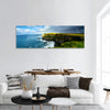 Rainbow above Cliffs panoramic canvas wall art