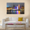 Copy of Copy of Lac-Superieur, in Laurentides Multi panel canvas wall art