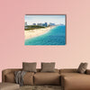 Aerial view of Fort Lauderdale Beach Multi panel canvas wall art
