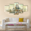 St Pietro, Vatican - artwork in painting style Multi panel canvas wall art