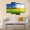 golf course in Dominican republic Multi Panel Canvas Wall Art