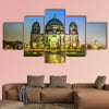 Berliner Dom, is the colloquial name for the Supreme Parish in Berlin multi panel canvas wall art