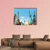 Travel the World, concept multi panel canvas wall art