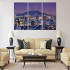 Downtown skyline of Seoul Multi panel canvas wall art