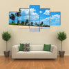 Nilaveli beach, Trincomalee, Sri Lanka Multi Panel Canvas Wall Art